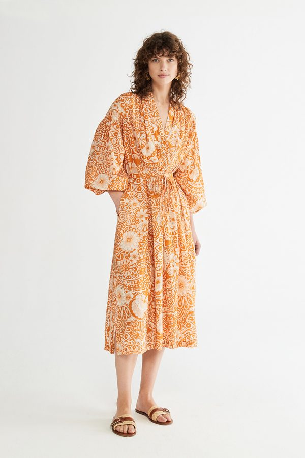 SS21 Vanessa Bruno Nazaria orange dress