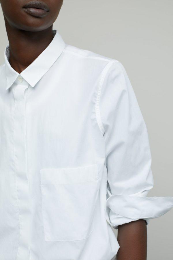 Closed camisa popelín blanca