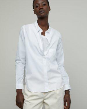Closed Organic white poplin shirt