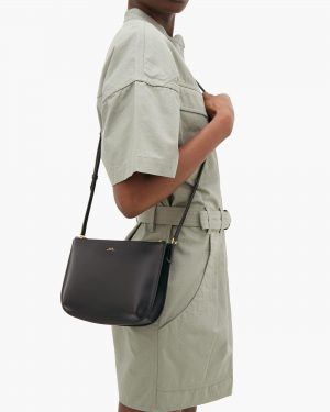 APC black sarah bag
