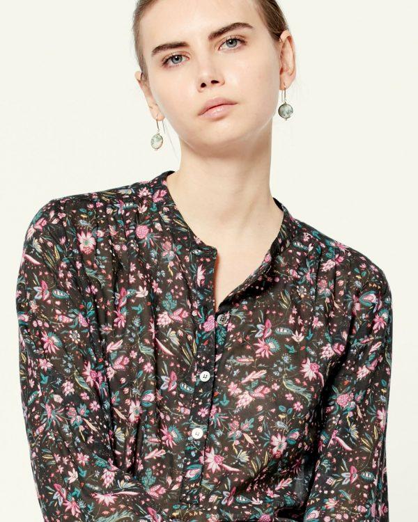 Maria floral shirt