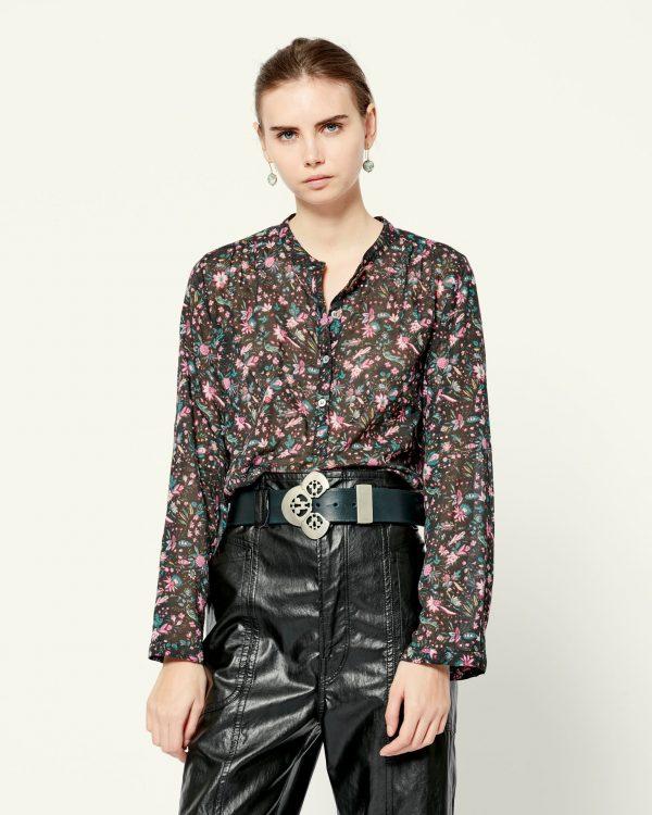Maria floral print shirt