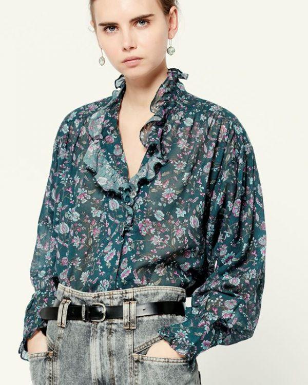 Isabel Marant Étoile Pamias printed shirt