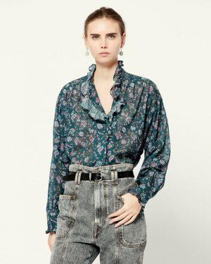 Isabel Marant Etoile Pamias printed shirt