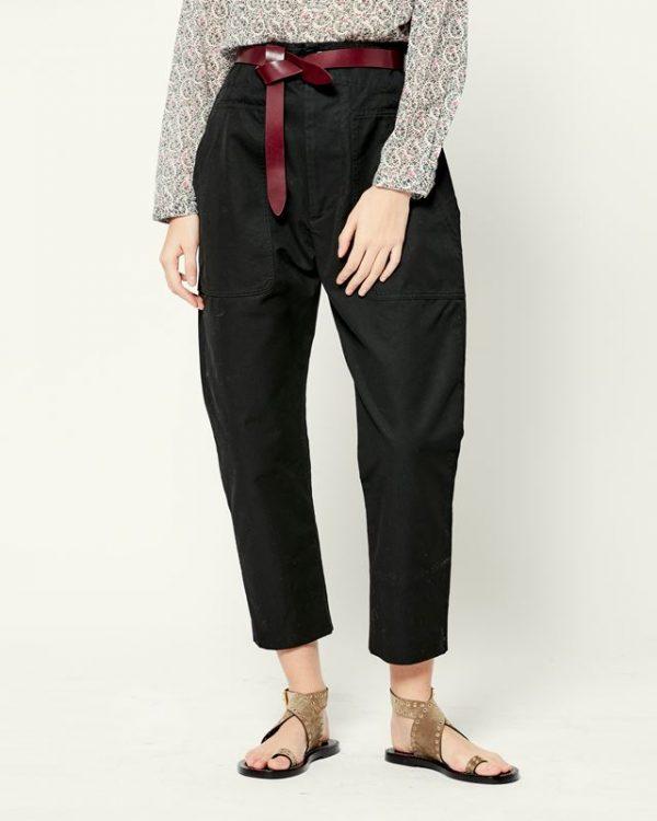 Pralunia baggy black pants