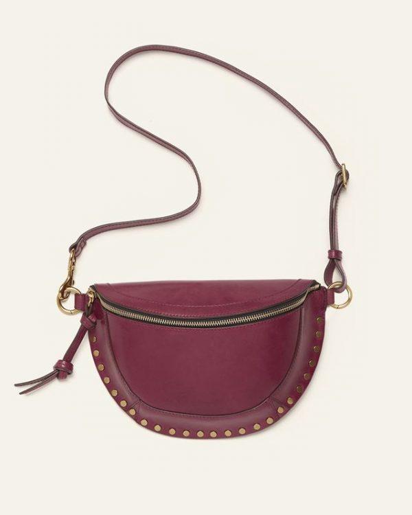 Isabel Marant´s burgundy Skano belt bag