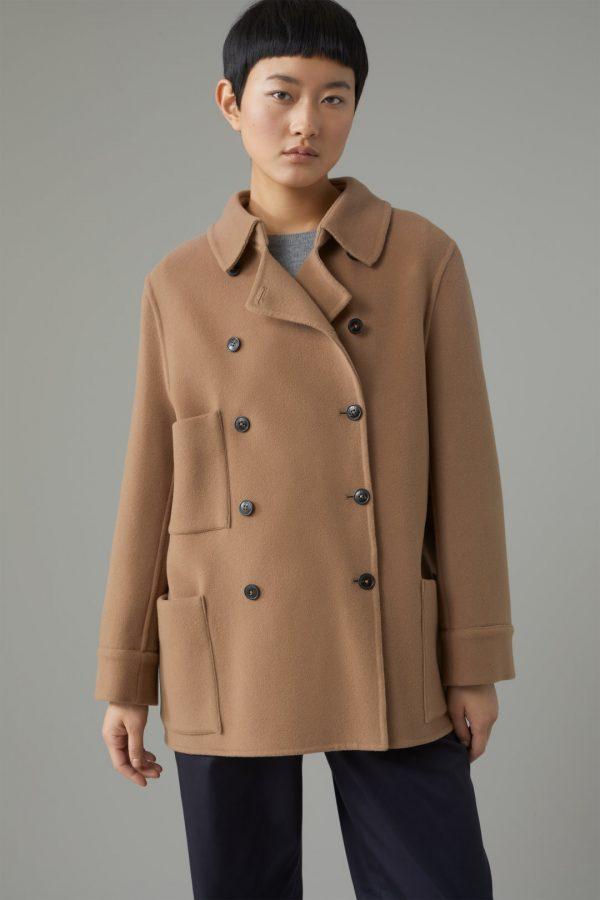 Closed doubleface short coat