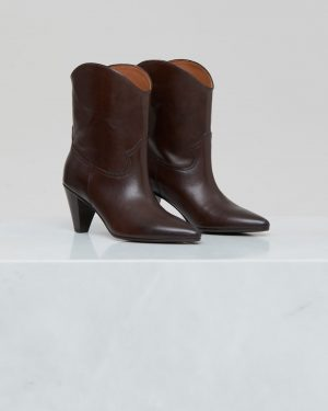 Licorice Western boots