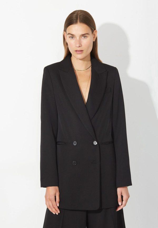 AW22 Masscob Norval black jacket