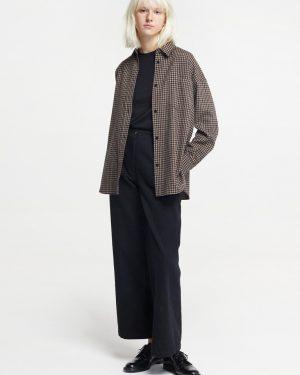 Pomandere wide black trousers