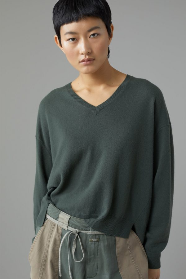 Closed merino and cashmere V-sweater