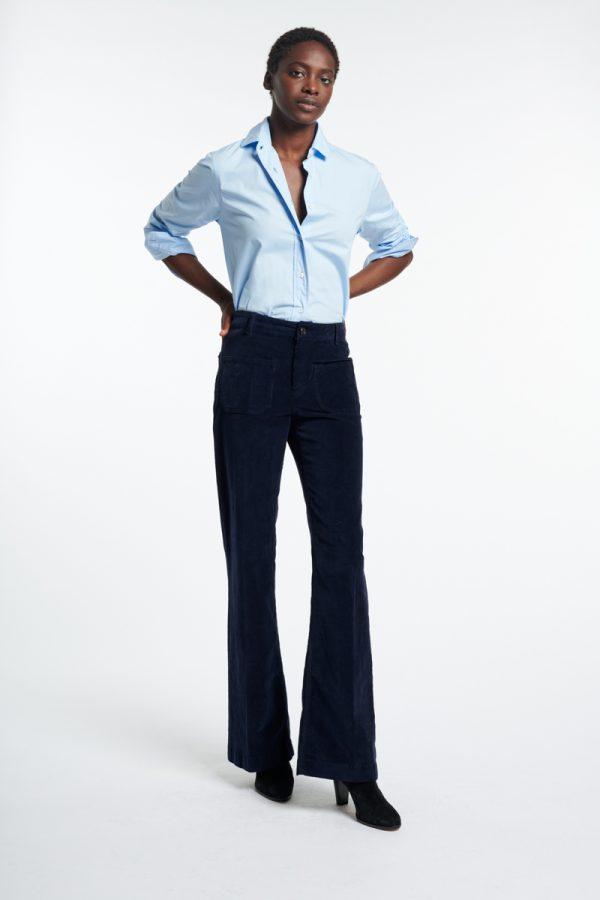 Vanessa Bruno- Dompay navy trousers