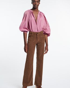 Vanessa Bruno-Dompay brown trousers