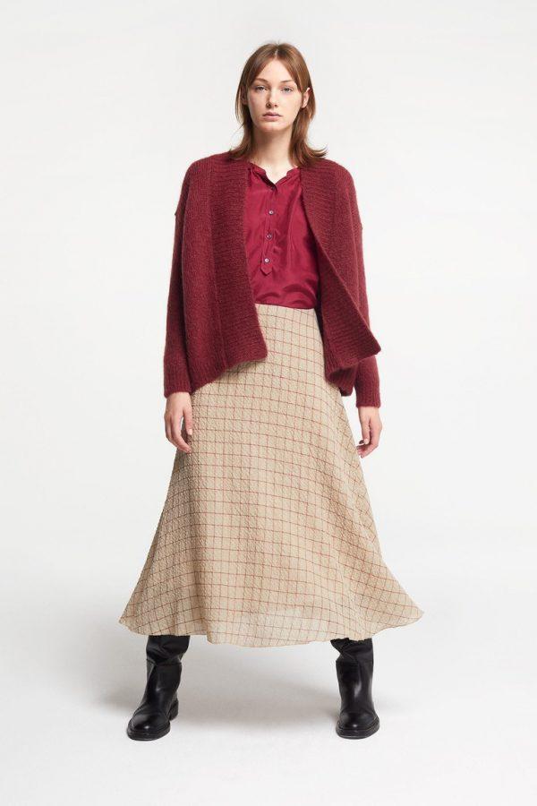 Pomandere silk oversize shirt