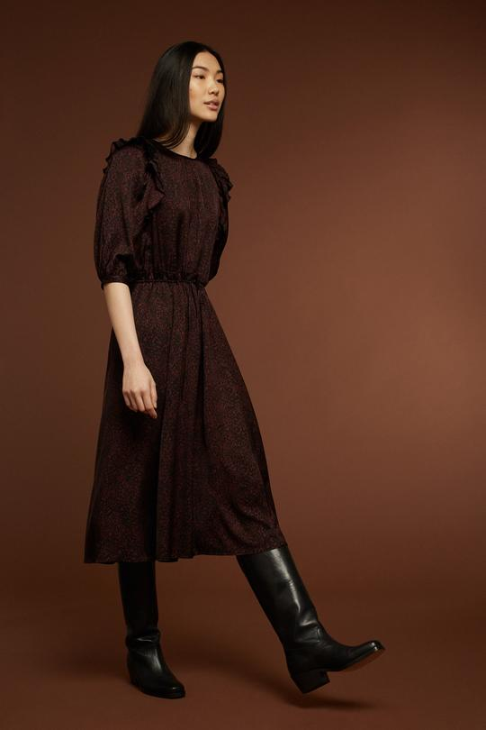 Soeur - printed Oxalys dress