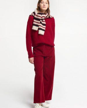 Pomandere. Corduroy wide trousers