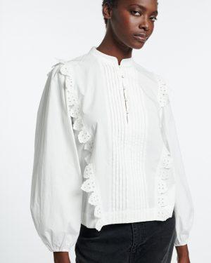 Vanessa Bruno-Senzo white blouse
