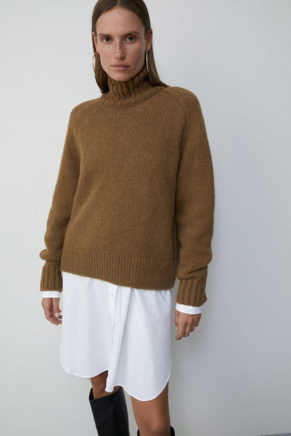 Closed- Alpaca turtleneck sweater